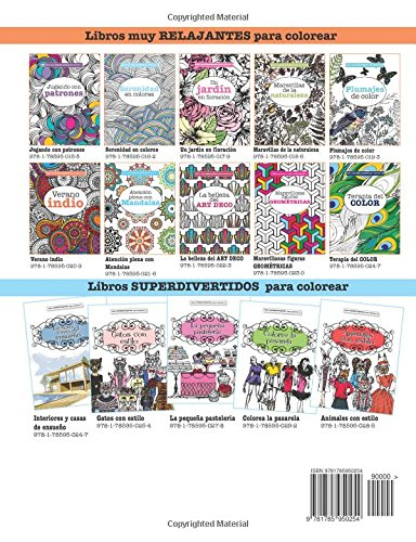 Libros para Colorear Adultos : Interiores y casas de ensueño: Volume ...