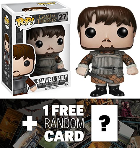 Game of Thrones Samwell Tarly (Training Grounds): Funko POP! x Vinyl Figure + 1 FREE Official Trading Card Bundle