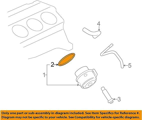 GM 94399279 Engine Oil Cooler Part//Component//Engine Oil Cooler Gasket