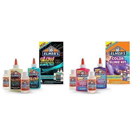 Amazon Com Elmer S Glow In The Dark Slime Kit 2062242