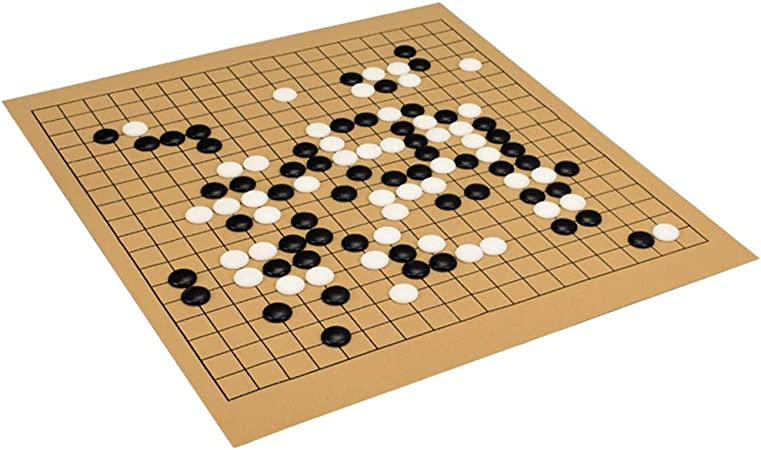 XCXDX Juego De Mesa Tradicional Chino, Backgammon, Gomoku, Ajedrez Chino, Tablero De Juego Go Y Bolsa De Almacenamiento Go: Amazon.es: Hogar