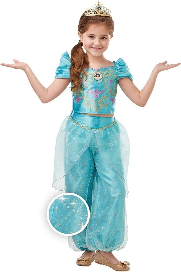 Rubies Disfraz oficial de princesa Disney Jasmine Aladdin con ...