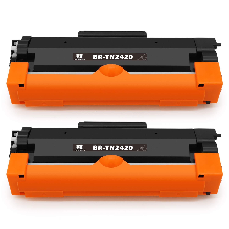 Recambio para T/óner Brother TN2420 TN410 feier cartuchos compatibles con impresoras Brother HL-L2350DW HL-L2310D DCP-L2530DW MFC-L2710DW MFC-L2750DW MFC-L2730DW DCP-L2510D HL-L2375DW y HL-L2370DN