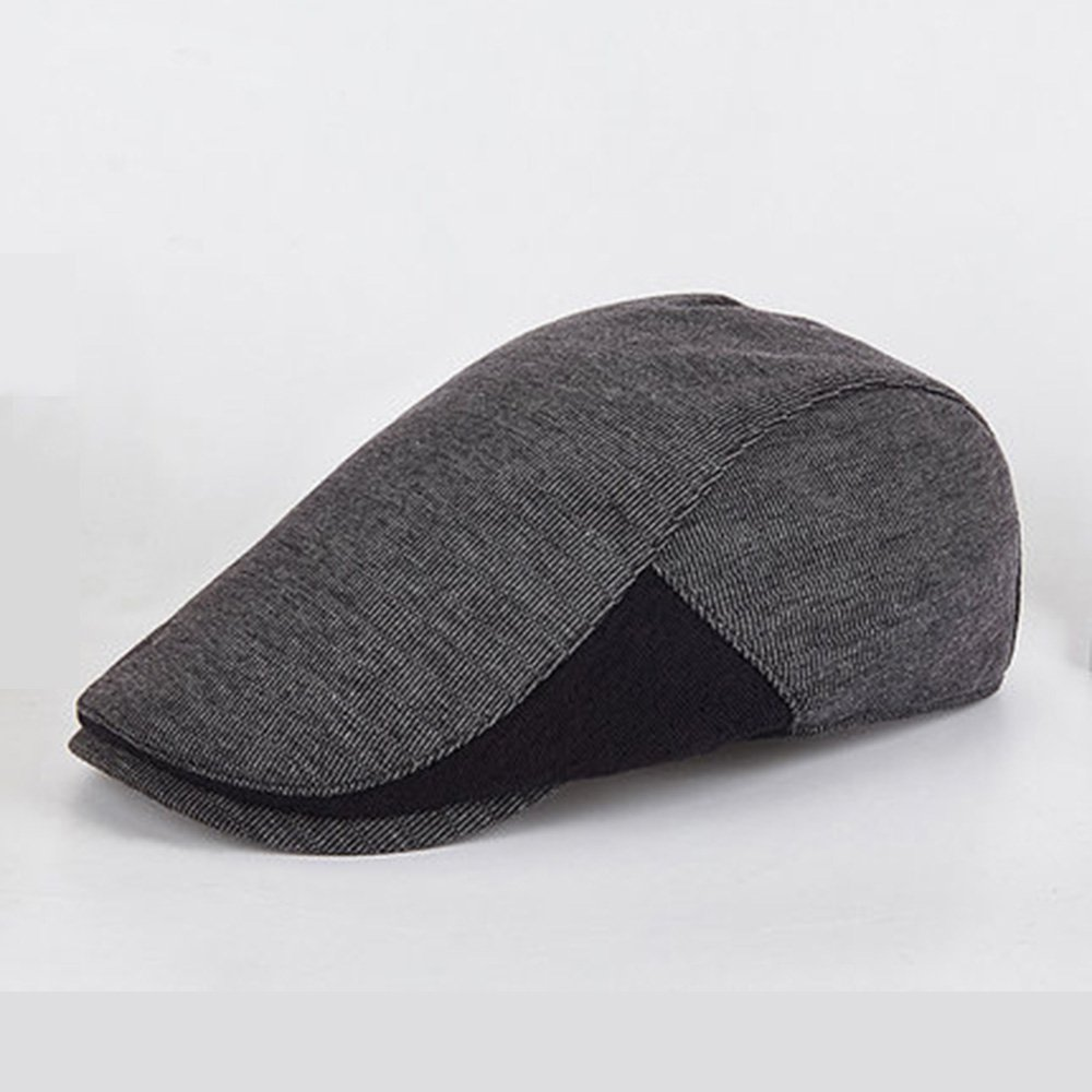 MAZHONG Gorras de béisbol Sombrero masculino ocio sombrero de viaje salvaje  Sombrero de pintor de boina 53d0d0745ef