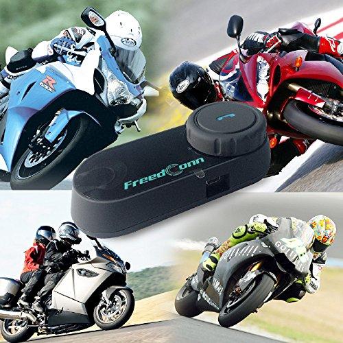 FreedConn T-COMVB Motorcycle Motorbike Helmet Bluetooth Intercom Interphone Headset, for 2 or 3 riders/MP3 player/GPS/FM radio/Hands Free (2Pack) by FreedConn (Image #9)