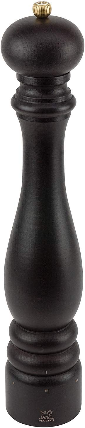 5,5 x 5,5 x 12 cm Peugeot Paris u Select Molinillo de Sal Madera lacada Blanco