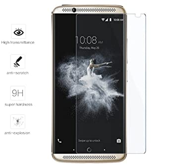 Tumundosmartphone Protector Pantalla Cristal Templado para ZTE AXON 7 Mini Vidrio
