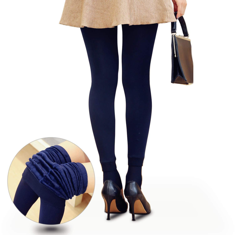 CCHOME Legging Elástica Térmicos Leggings Invierno para Mujer Pantalones Llevan Pelo Dentro Leggins Térmicos
