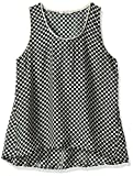 Beatrice B. Women's Sleeveless Dot Top, Green, 12/50 US/IT