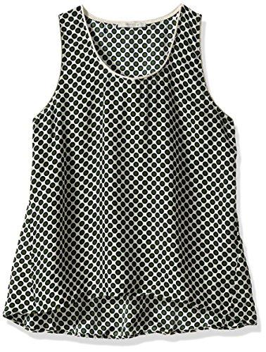 Beatrice B. Women's Sleeveless Dot Top, Green, 12/50 US/IT by Dea