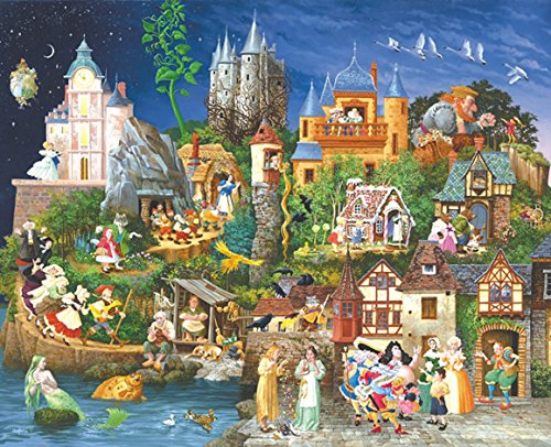 SunsOut - James Christensen - Fairy Tales - Jigsaw Puzzle - 1500 Pc