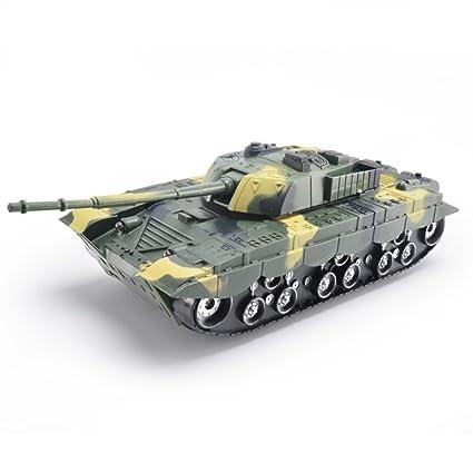 e8038de208e273 Amazon.com  Inertial Simulation Battle Tank Toys with Flashing and ...