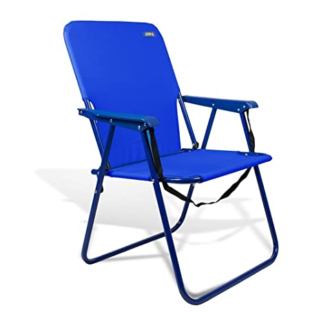 Beach U0026 Camping Sturdy Chair 15u0026quot; Height With Shoulder Strap And Back  Pouch By JGR