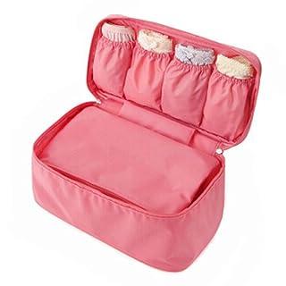 Multi-Functional Travel Bag Portable Case Bra Underwear Pouch£¬Baby Pink
