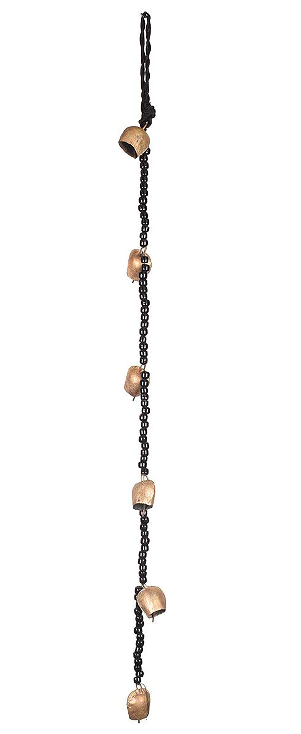 storeindya Metal Bell Wind Chimes Home Decor Accessory Soothing Melody Housewarming Ideas (Singing Wind Chime)