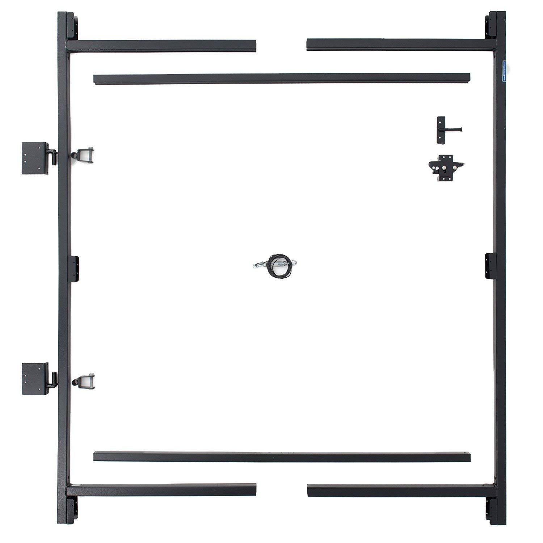 Adjust-A-Gate Steel Frame Gate Building Kit, 60''-96'' Wide, 6' High (2 Pack) by Adjust-A-Gate (Image #2)