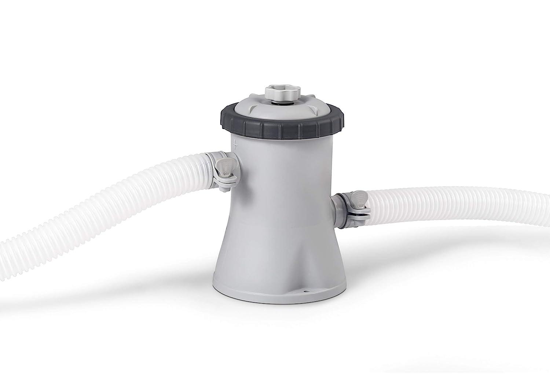 INTEX 0775069 Pompe de Filtrage S/écuris/ée 12 V Plastique Gris 25,4 x 25,4 x 26 cm