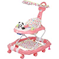Tiffy & Toffee Delight Baby Walker with Rocker (Rose Pink)