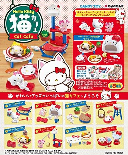 Japanese Hello Kitty Cat Cafe Miniatures - Cat Cafe Kitty