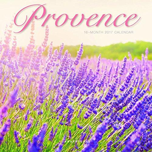 "Graphique 2017 Provence 7"" x 7"", Mini Calendar (MY14017)"