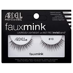 Ardell Faux Mink Eye Lashes 813 Black