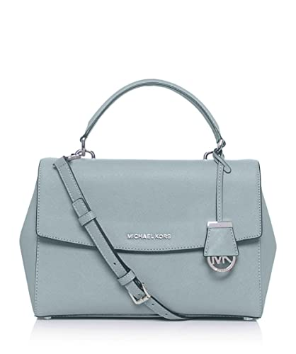 6e39630c1cb8 Amazon.com: MICHAEL Michael Kors Ava Small Satchel Bag Green One Size: Shoes