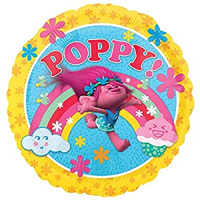 Trolls Poppy Party Decoration Balloons Mylar Foil Gift Favor 3PC: Health & Personal Care