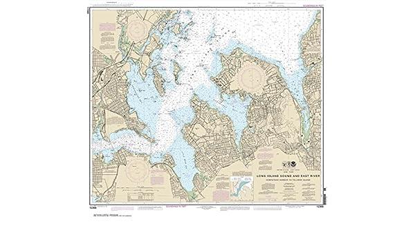 NOAA Chart Long Island Sound and East River Hempstead Harbor to Tallman Island
