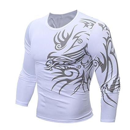 Hombres blusa, ieason 2017 caliente venta. Hombres Moda impresión camiseta de manga larga para