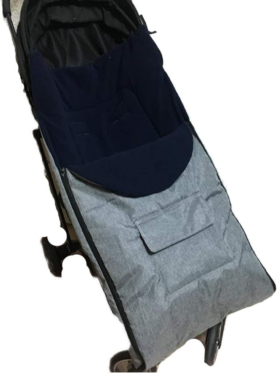 JFBABY Baby Bunting Bags Black Can Be Used As Car Blanket//pillow//pad//foot Cover Protect Your Baby From The Cold Weather of Car Seats and Strollers