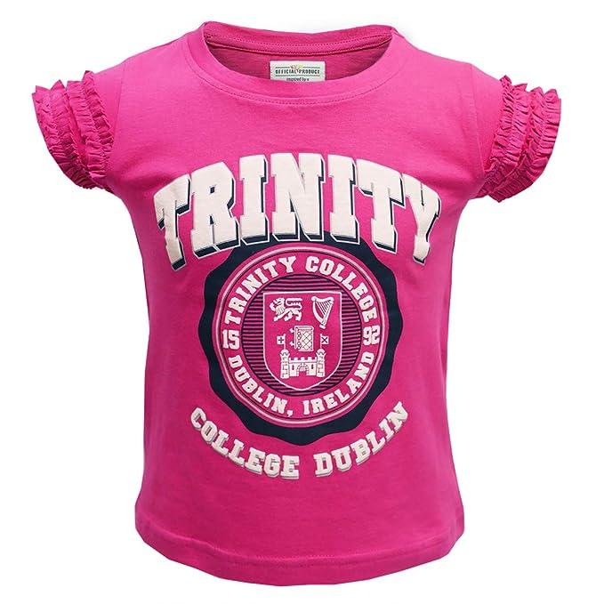 Amazon.com: Camiseta para niña con sello de Dublín Irlanda ...