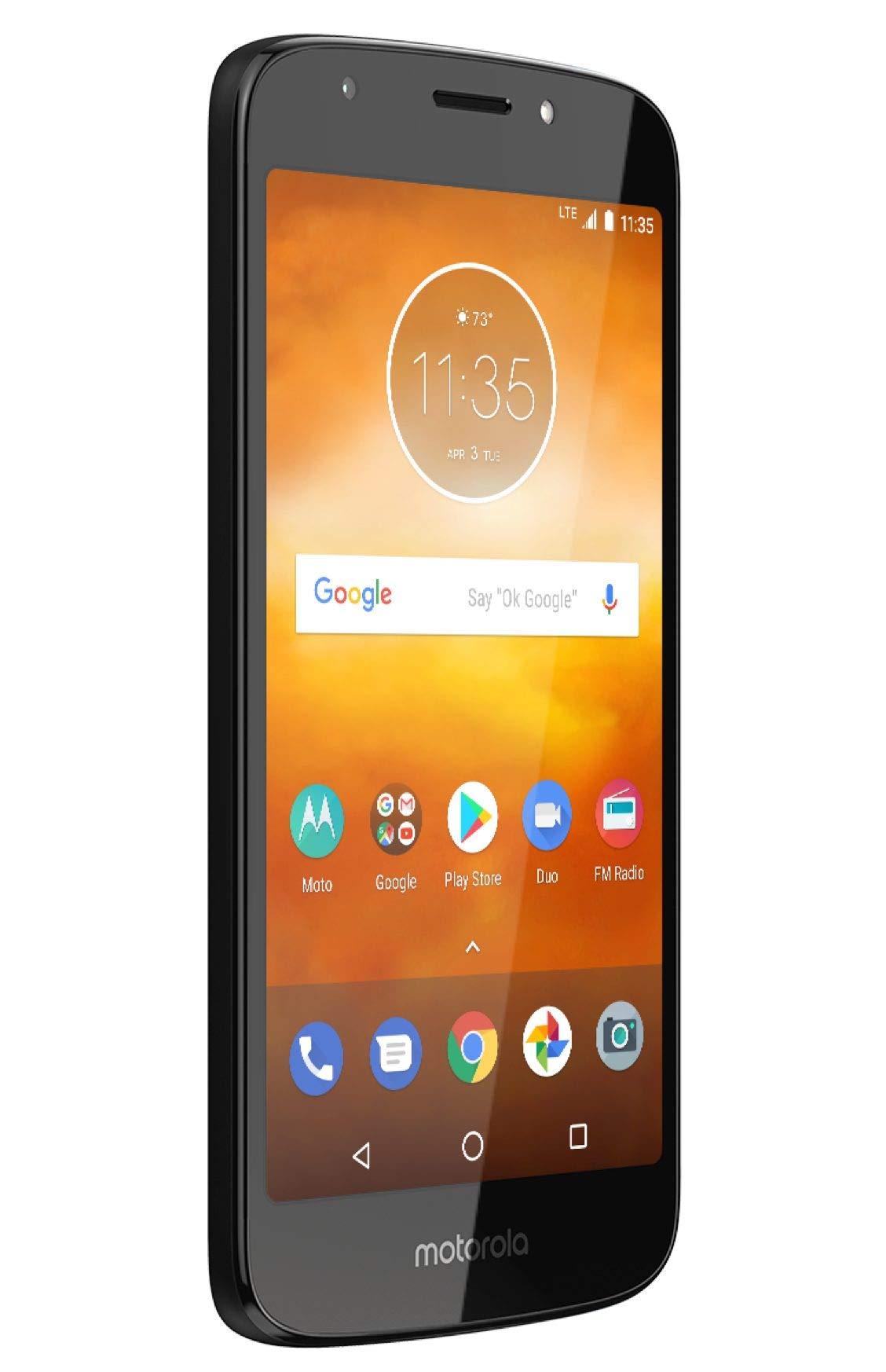 Motorola Moto E5 Play XT1920-19 Factory Unlocked 16GB Dual SIM 1GB RAM 4G LTE 5.3'' LCD Display 8MP International Version (Black) by Motorola (Image #5)