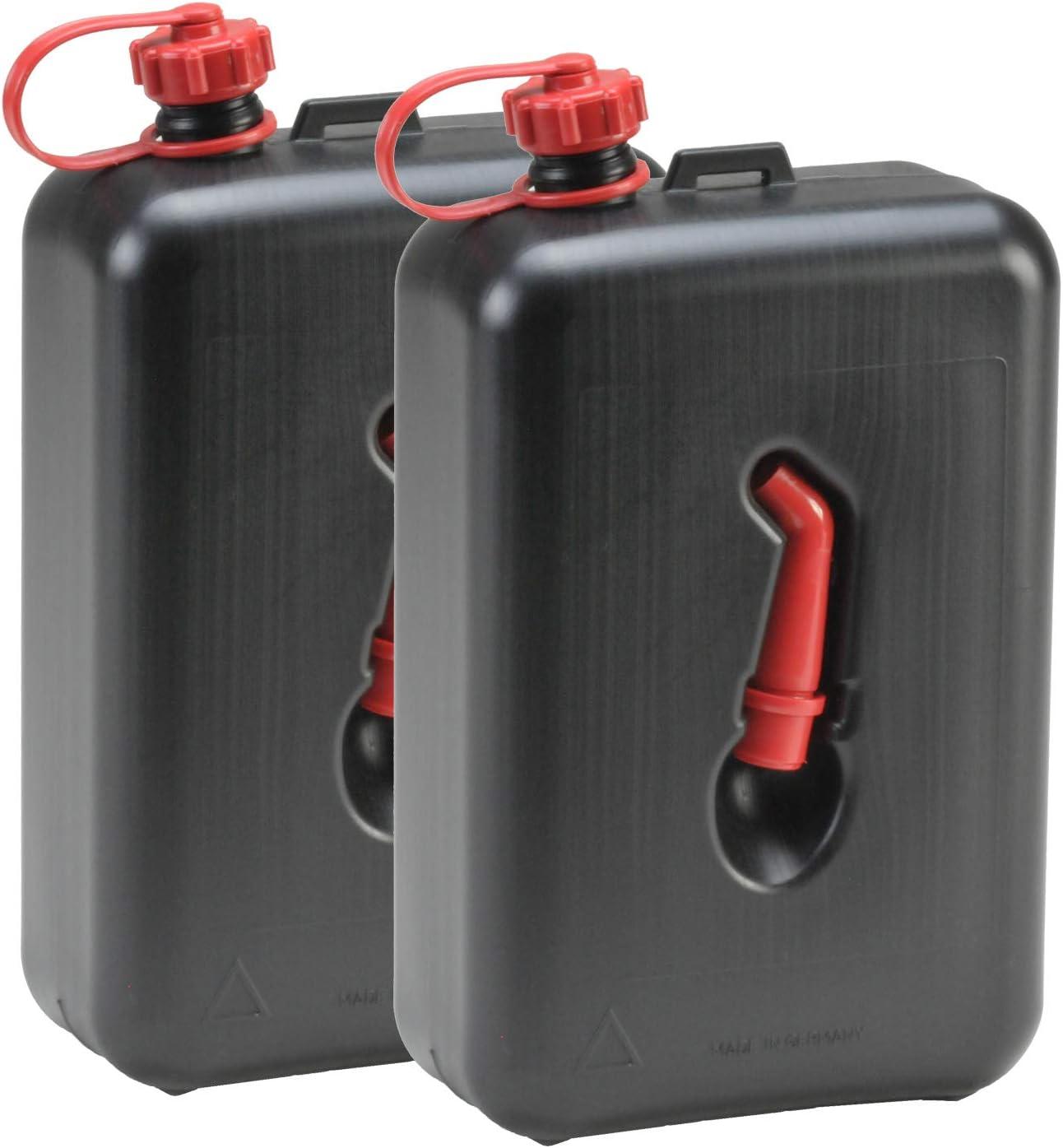 Hergestellt Für Bauprofi 2x Kraftstoff Kanister 2 Liter Schwarz 2er Set Motorrad Benzinkanister 2l Auto