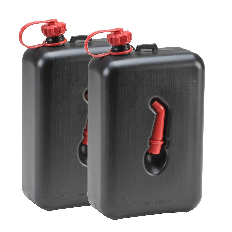 2x FuelFriend®-BIG CLEAR 2 Liter Benzinkanister Reservekanister Auto Motorrad