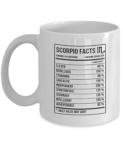 Amazon Scorpio Zodiac Mug