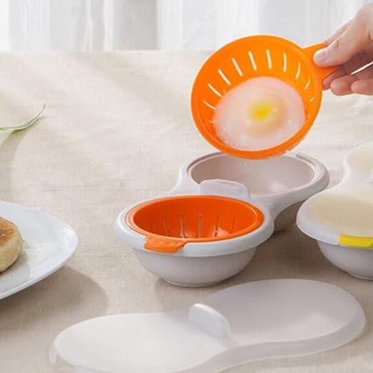 Horno microondas COCEDOR de huevos, Sandwich poached huevos 2 ...