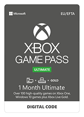 Xbox Game Pass Ultimate | 1 Month Membership | Xbox One/Win 10 PC