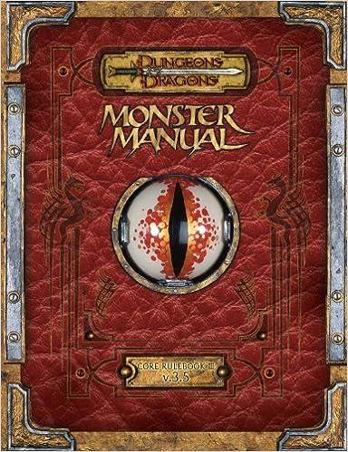 Dungeons & dragons v3. 5 d20 monster manual iv 4 d&d wtc95376 for.