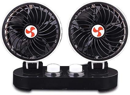 Ventilador Coche Ventilador para automóvil 12V Dedicado potente de ...