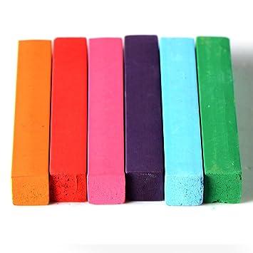 kit de 6 couleur coloration cheveux teinture craie crayon temporaire coiffure - Coloration Cheveux 61