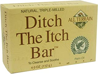 product image for All Terrain Ditch The Itch Bar Soap, 4oz, to Cleanse & Soothe Itchy Irritated Skin (Pack of 2)