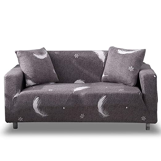 HOTNIU Funda Elástica de Sofá Funda Estampada para sofá Antideslizante Protector Cubierta de Muebles (2 Plazas, Impresión #Xhhym)