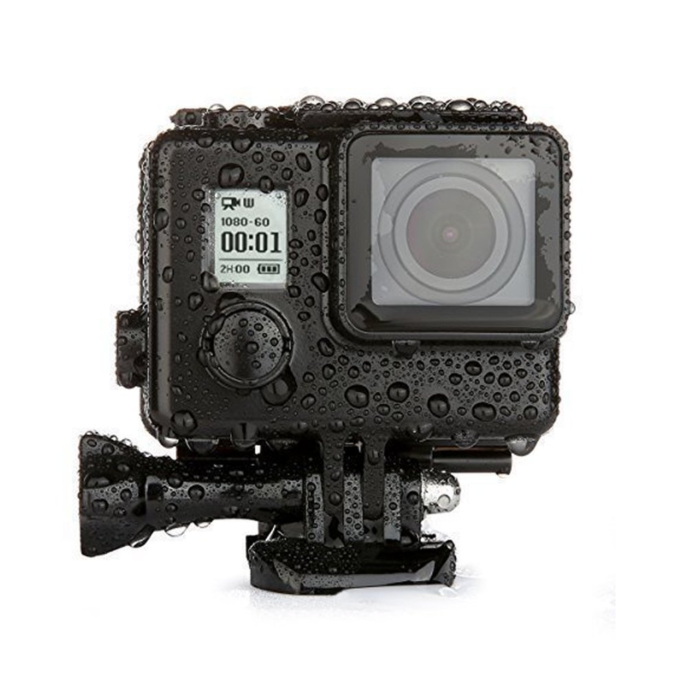 Nameo 45m Underwater Waterproof Protective Replacement Diving Housing with Quick Release Buckle Mount+Thumbscrew for GoPro Hero 4 3+ 3