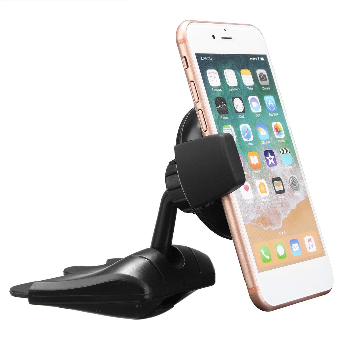 YONGYAO Qi Wireless Caricabatteria Auto Ricarica CD Slot Holder Supporto Stand per iPhone x 8//Plus