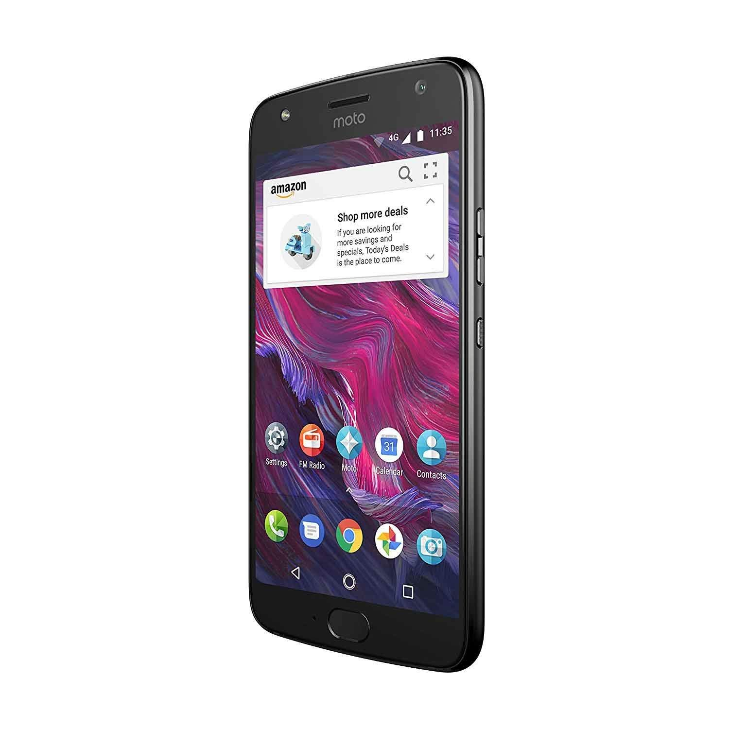 Moto X (4th Generation) - with Amazon Alexa hands-free – 32 GB - Unlocked – Super Black - Prime Exclusive by Motorola (Image #4)