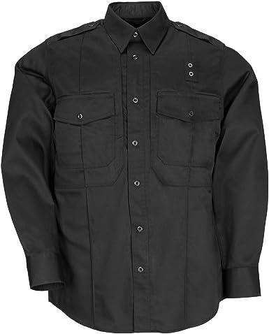 5.11 Tactical #72345 Hombres PDU Manga Larga Sarga Clase B Camisa: Amazon.es: Ropa y accesorios
