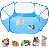 Rabbits VICSPORT Small Animals Cage Tent Portable Yard Fence for Guinea Pig Breathable Pet Playpen Open Outdoor//Indoor Pets Exercise Fence Hamster Chinchillas and Hedgehogs