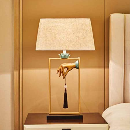 MAMASAM Lámpara de Mesa Decoración Creativa Salón Dormitorio ...
