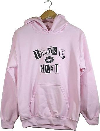 Thank U Next Graphic Light Pink Hoodie At Amazon Women S Clothing Store