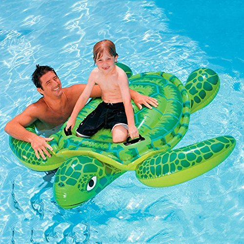 YOUDirect(TM) 191*170CM Sea Turtle Ride Swimming Pool Inflatable Giant Turtle Float Toy Floating Bed Floating Mat for Kids Children Adult [並行輸入品]   B07BMYQGHK